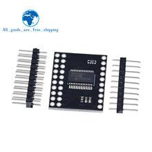 TZT MCP23017 Serial Interface Modul IIC I2C SPI MCP23S17 Bidirektionale 16-Bit I/O Expander Pins 10Mhz serielle