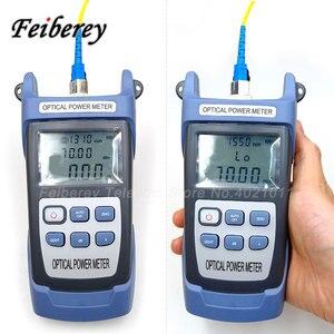Image 5 -  70 ~ 10  50 26 dbm 광섬유 파워 미터 광섬유 파워 미터 FTTH 광케이블 시험기 도구 OPM 광 파워 미터