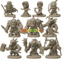 Toys For Children Plastic DIY Role-playing Games Group Arcadia Quest Explore Alexandre Arcady Second Wars 1/72 Model