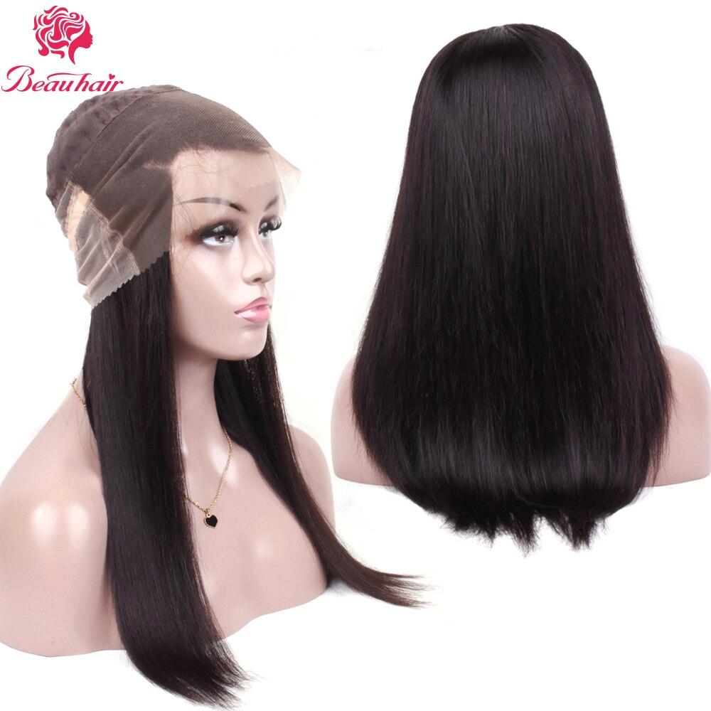 Beau Haar spitze front menschliches haar perücken Für Schwarze Frauen Natürliche Haaransatz Volle Ende 360 spitze frontal perücke Nicht- remy Perücke Mit Baby Haar