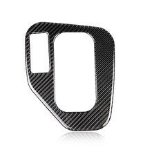 For BMW E39 1998 1999 2000 2001 2002 2003 2004 2005 Carbon Fiber Car Gear Shift Panel Cover ONLY LHD