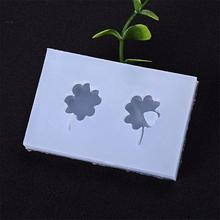 7eec547d4485 AIHOME DIY Resin Mould Four Leaf Clover Silicone Mold Cake