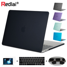 Redlai Case For Macbook New Pro 13 15 Touch bar Matte Plastic Hard Cover Air 11 Retina 13.3 15.6
