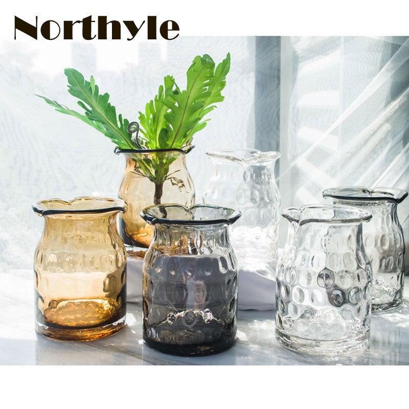 VS132635 Скляна ваза для дому прикраса - Домашній декор