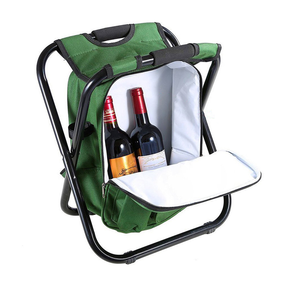 Outdoor Tool Folding Stool Portable Backpack Chair Stool