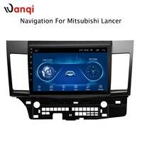 10.1 inch Android 8.1 car dvd gps navigation for mitsubishi lancer 2007 2015 multimedia radio dvd system