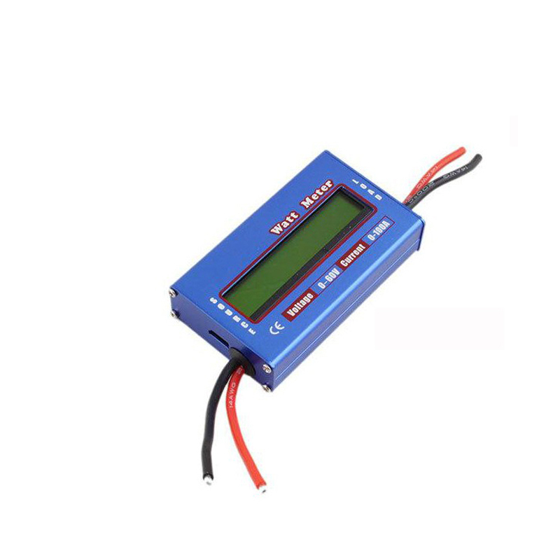 Charger Watt Meter: Blue DC 60V 100A Balance Voltage Battery Power Analyzer RC