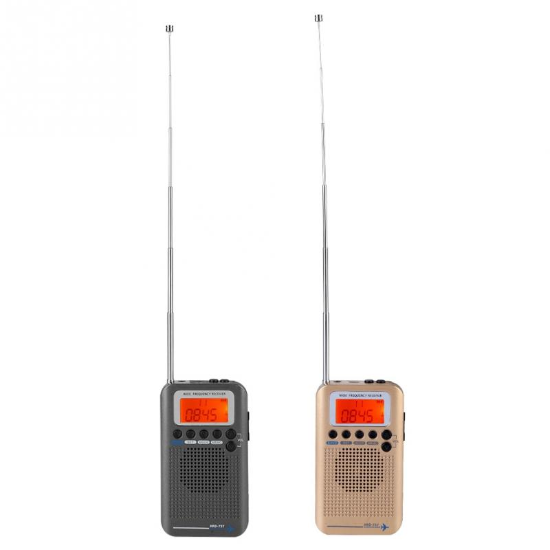 Tragbares Audio & Video Logisch Flugzeug Band Radio Receiver Vhf Tragbare Full Band Radio Recorder Multifunktions Für Luft/fm/am/cb/ Vhf/sw Der Preis Bleibt Stabil