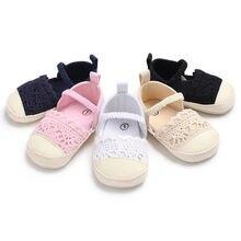 Новейший бренд новорожденных девочек мягкая подошва кроватки обувь анти-кроссовки обувь для грудничков от 0 до 18 месяцев