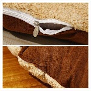 Image 4 - Benepaw lits épais pour animaux domestiques, lavable, doux, doux et grands chiots et chiots, maison, amovible, chaude, transat de luxe, pour lhiver