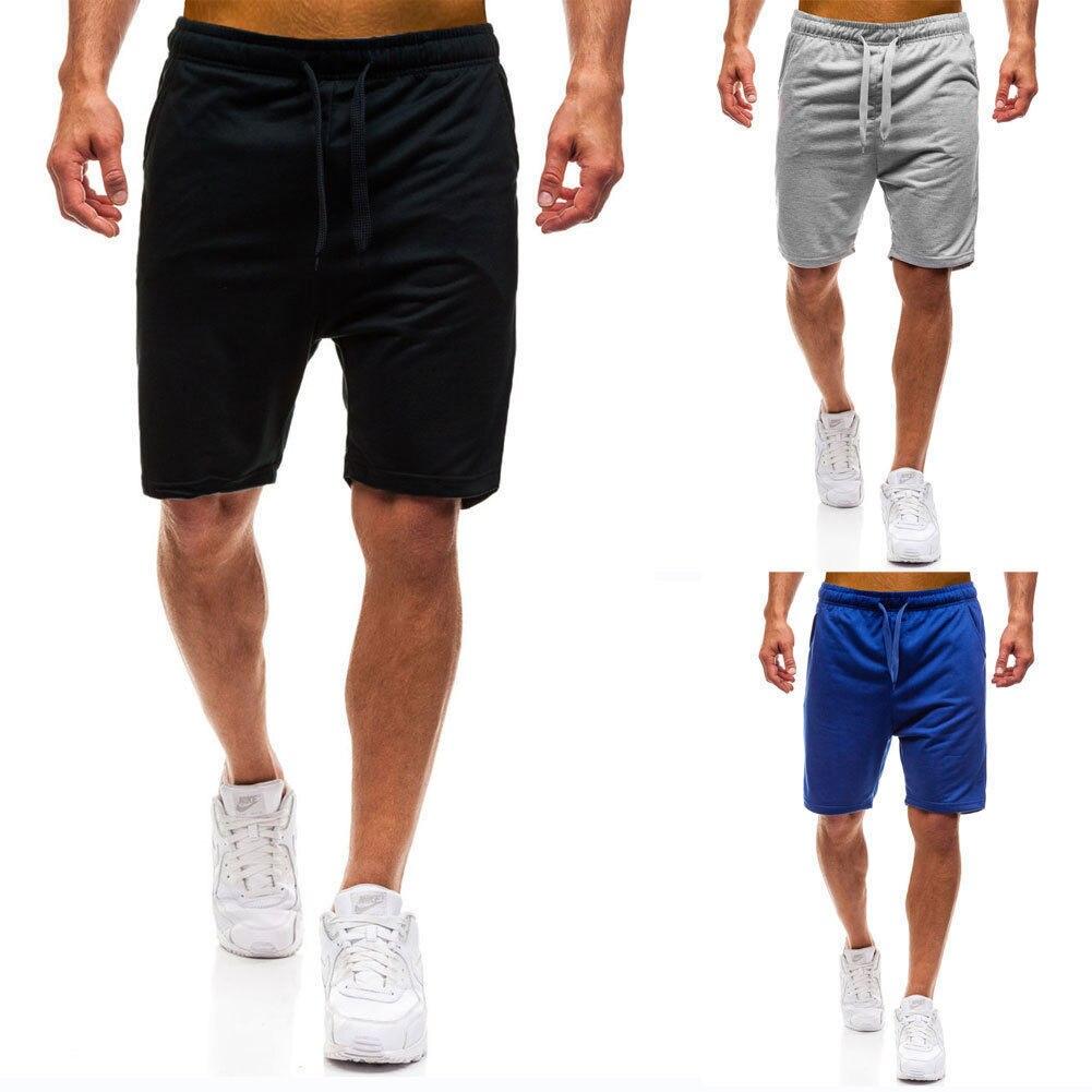 Casual Shorts Harem Jogging Men Summer Blue Training Black Gray Loose Dance-Baggy