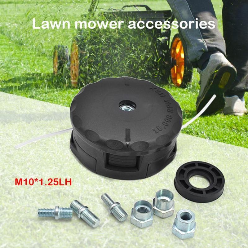 Multi-size Bolt Stud String Trimmer Head Set Kit For Brushcutter Lawn Mower Grass Trimmer Head Multi-functional Universal Head