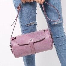 Brand Genuine Leather Luxury Handbags Women Fashion Designer Cow Skin Pillow Crossbody  Messenger  Small Shoulder Bag Two Colors