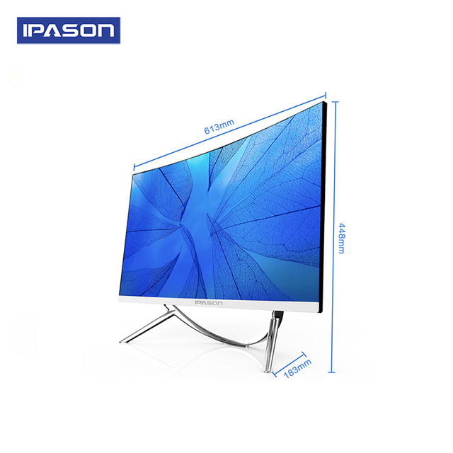 IPASON all in one Gaming PC V10 27inch Intel 6 Core I5 9400F DDR4 8G RAM 480g SSD Non-Integrated 1050ti 4G Graphics card 2