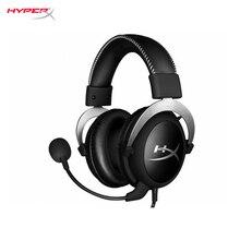 Компьютерная игровая геймерская гарнитура HyperX Cloud Silver cyber sports