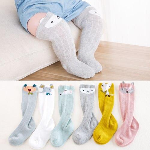 Hot Baby Kids Toddlers Knee High Socks Tights Leg Warmer Boy Girl Stockings 0-3Y