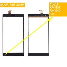 10Pcs/lot For Nokia Lumia 1520 N1520 RM-937 RM-940 Touch Screen Touch Panel Sensor Digitizer Front Glass Outer Lens Touchscreen for nokia lumia 1520 n1520 rm 937 rm 940 touch screen touch panel sensor digitizer front glass outer lens touchscreen no lcd