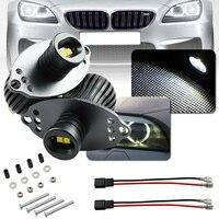 New 2Pcs 40W 12V Car Angel Eyes Ring Light Bulbs White LED Decorative Lamp For 09 11 BMW E90 E91 LCI