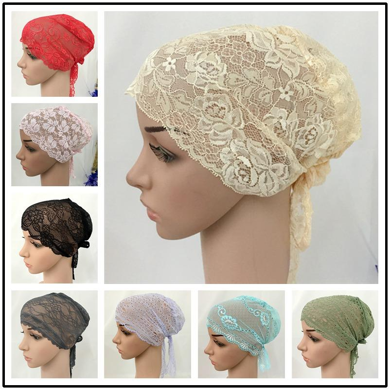 Islamic Clothing Traditional & Cultural Wear Liberal New Plain Colors Womens Hijabs Women Floral Hat India Cap Muslim Hats Hairnet Chemo Cap Flower Bonnet Beanie For Women