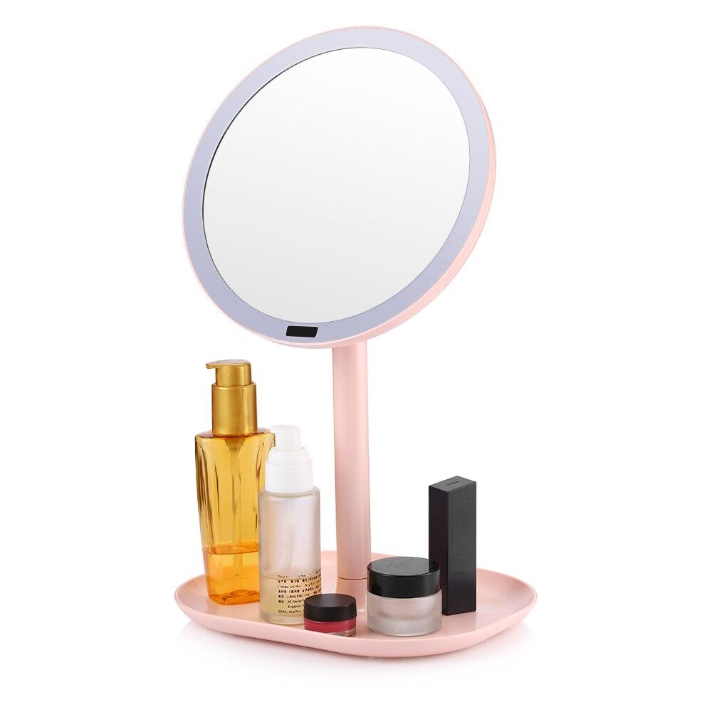 Schönheit & Gesundheit Gustala Sk1611 Make-up Spiegel Mit Infrarot Intelligente Induktion 360-grad Rotation Perfektes Make Up Standing Spiegel Kosmetik Spiegel
