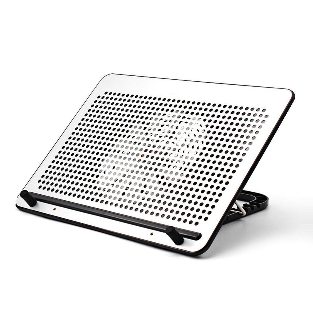 Refroidisseur d'ordinateur portable silencieux ventilateur de refroidissement maison USB Base de refroidissement Mat support de radiateur bureau à domicile