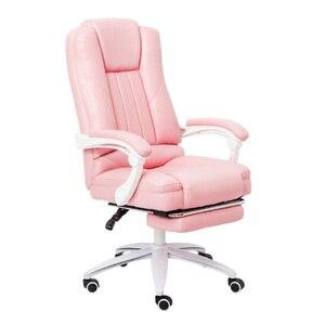 Image 3 - EU 直接播種家庭用ゲームで快適な回転椅子ボス作業オフィスレース播種 cadeira ゲーマー RU