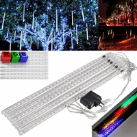 5sets/lot Christmas Holiday Light 50CM LED Meteor Shower Rain Tube Lights Set RGB Colorful Light(85 265v)