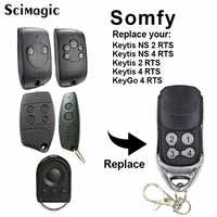 SOMFY Keytis NS 2 RTS-KeyGo 4 RTS New compatible rolling code remote control duplicator 434.42mhz multi frequency remote control