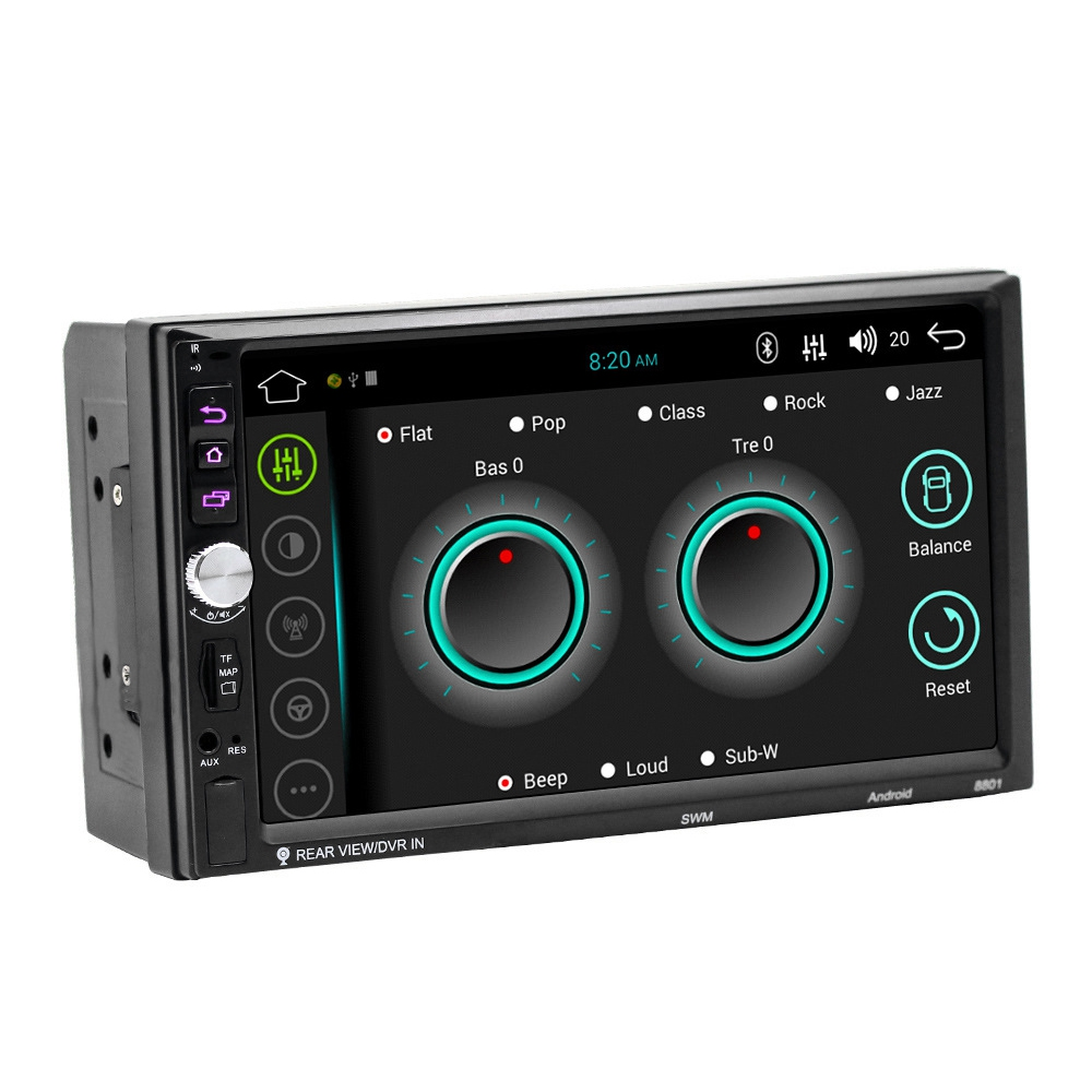 7-Inch General Vehicle GPS Navigation HD Press Android Automotive MP5 Player 88017-Inch General Vehicle GPS Navigation HD Press Android Automotive MP5 Player 8801