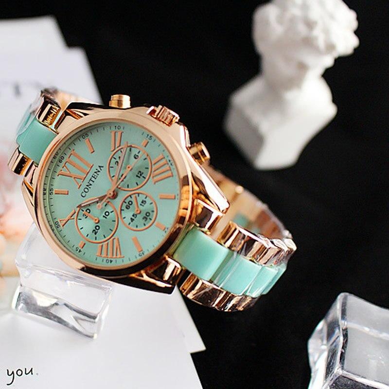 Cyan Rosefield Watch Women Stainless Steel Relojes Mujer 2018 Quartz Three Eyes Analog New Fashion Clock Relogio Feminino Hot