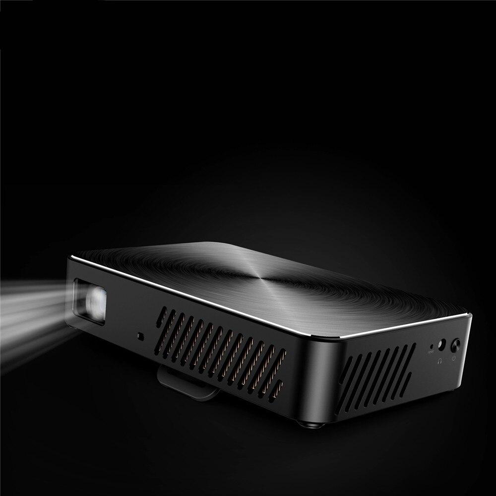 VIVIBRIGHT J10 bluetooth WIFI 1920*1080 projecteur Android 6.01 1G + 8G Beamer Mini DLP microprojecteur haut-parleur intégré pour 280 i - 4