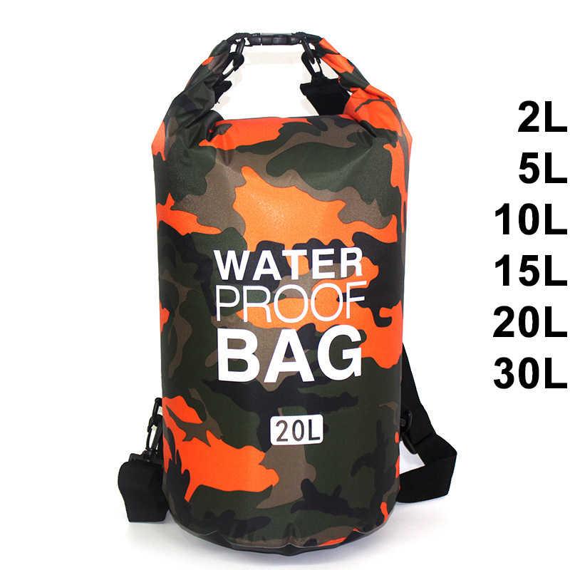 Dry Fold Bags 3 Colours Dry Bag Dry Sack Drift Floating Canoe Kayak