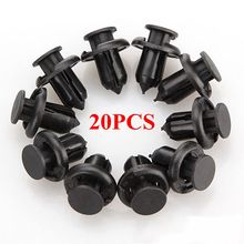 20x Rivet de garniture de fixation de Clip de pare-chocs pour Honda/Accord/Civic CR-V/Acura CL MDX(China)