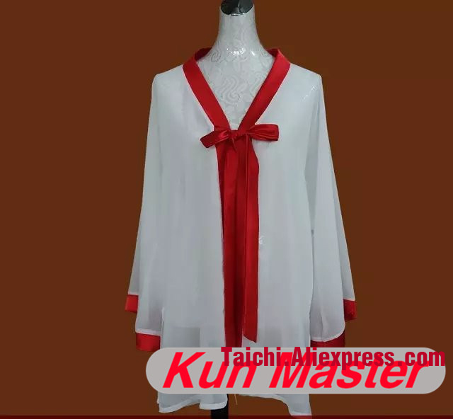 Custom Tai Chi Performance Veil  Martial Art Clothing For Kung Fu According Your Height And Weight