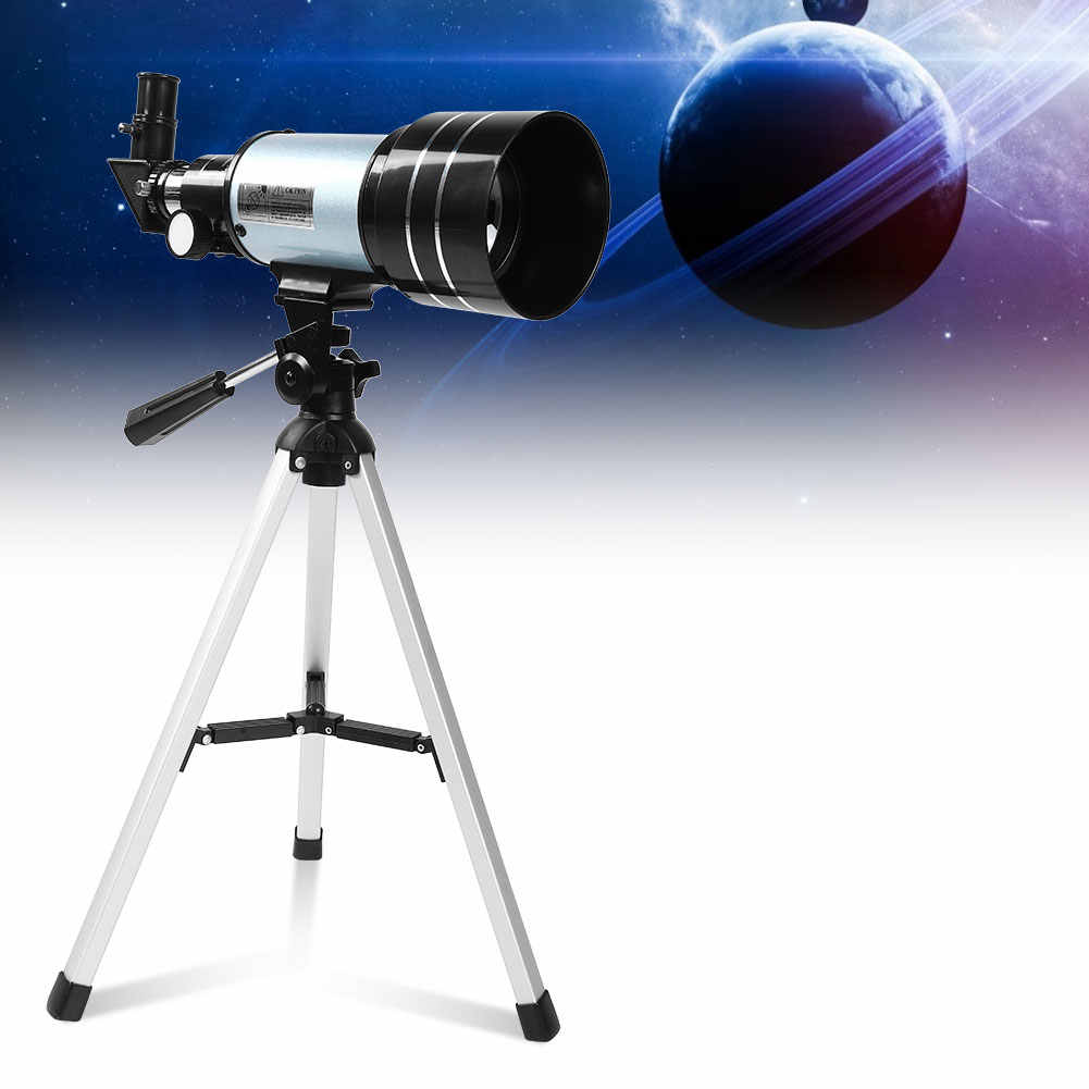 Astronomical Telescope with Tripod Finderscope Terrestrial Space Moon Watching Monocular