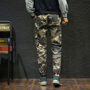 Image 5 - 7XL Men 2019 Spring Autumn Casual Cotton Pockets Cargo Pants Trousers Men Army Military Tactical Fleece Warm Trouser Pant Men