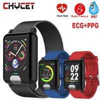 Smart Band Blood Pressure ECG PPG Fitness Tracker Watch Waterproof IP67 Heart Rate Monitor Activity Tracker Women Men