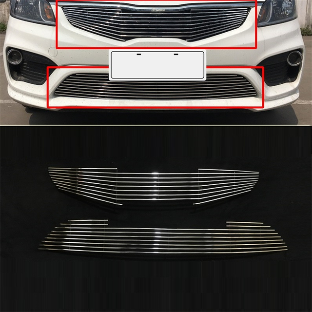 Decorative Decoration Mouldings Automobile Accessory Car Accessories Racing Grills 11 12 13 14 15 17 FOR Kia K2