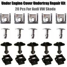 20 Stks/set Onder Motor Versnellingsbak Cover Schroef Voor Vw Passat B5 Voor Audi A4 A6 Modellen 8D0805960 8D0805121