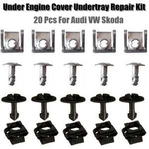 Image 1 - 20PCs/Set  Under Engine Gearbox Cover Screw for VW Passat B5 for Audi A4 A6 Models 8D0805960 8D0805121