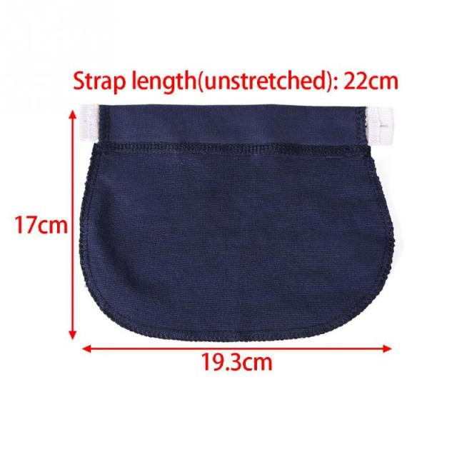 Maternity Waistband Elastic Extender Soft Pants Belt Extension Buckle Button