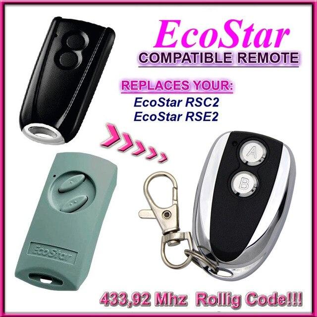 Ecostar RSC2 RSE2 a Distanza 433.92 Mhz di Controllo di Ricambio Compatibile Hormann Ecostar RSE2 RSC2 a Distanza 433.92 Mhz di Controllo