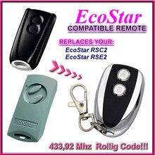 Ecostar RSC2 RSE2 control remoto 433,92 mhz de reemplazo compatible Hormann EcoStar RSE2 RSC2 433,92 mhz control remoto