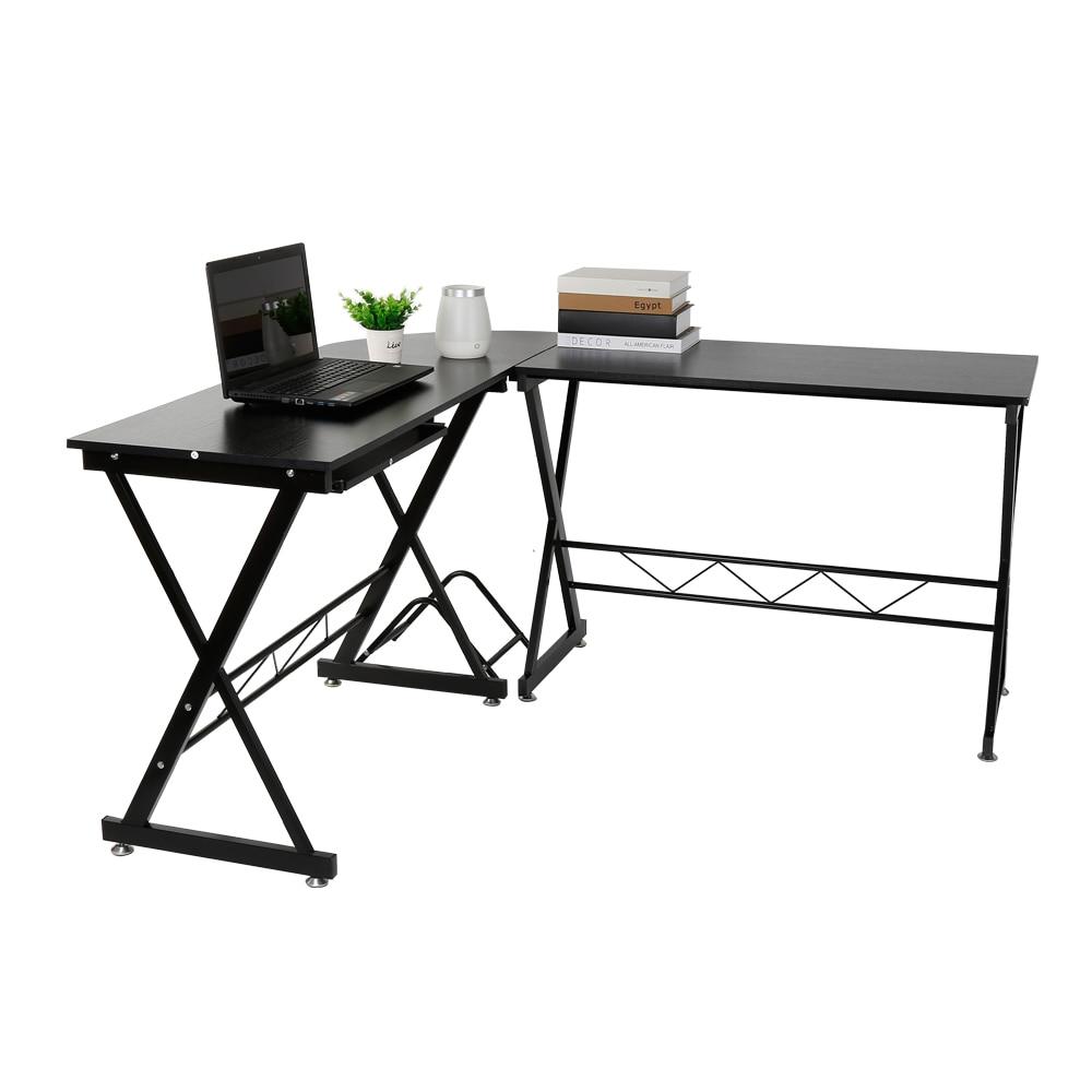 2 dans 1 Amovible Ordinateur PC de Bureau En Métal Robuste Ordinateur Portable table mobilier de bureau Portable Bureau Pour Général Commercial Utilisant HWC
