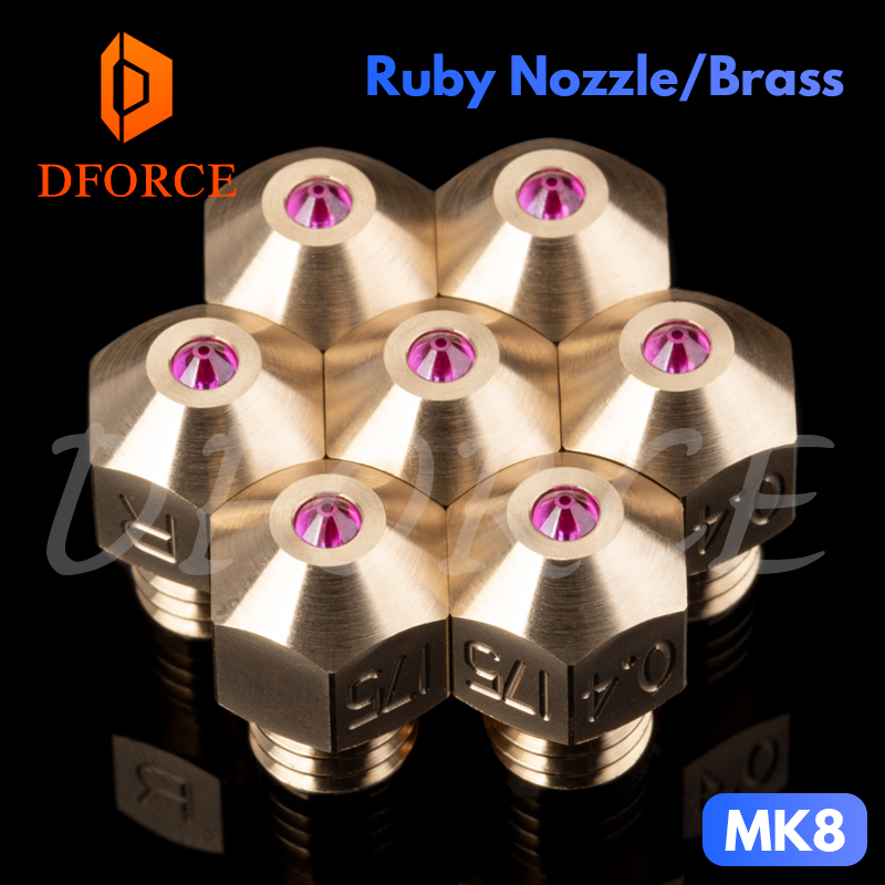 dforce mk8 rubi bico 1 75 milimetros compativel com especial de alta temperatura materiais peek pei