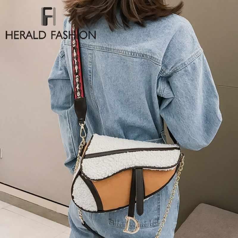 Herald женские Модные от известного дизайнера сумка на плечо суппорт Сумка