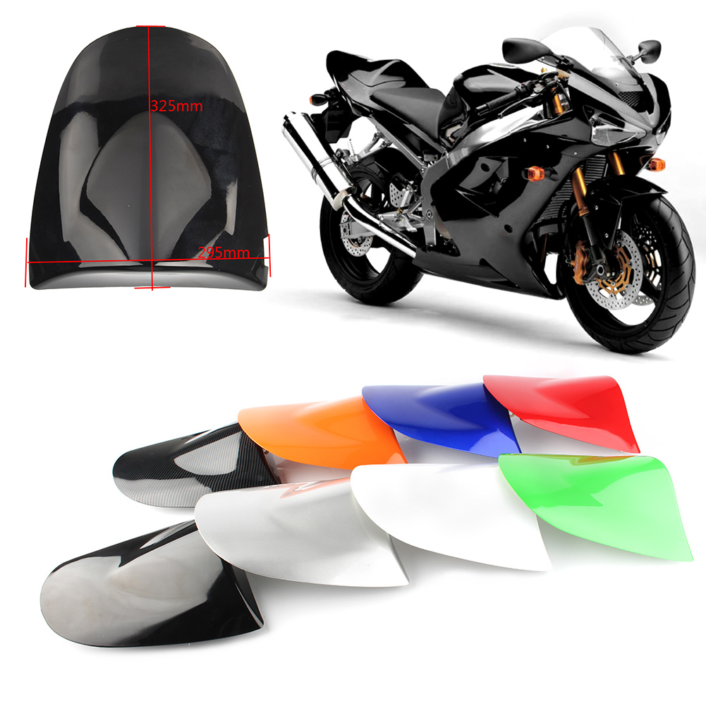 Motorcycle Rear Pillion Passenger Cowl Seat Back Cover Fairing Part For Kawasaki ZX6R 2003 2004