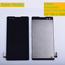цена на 10Pcs/lot For LG X Style LCD Display Monitor Touch Screen Digitizer K6 K200 K200DSF K200F K200MT K200DS LS676 Assembly Complete