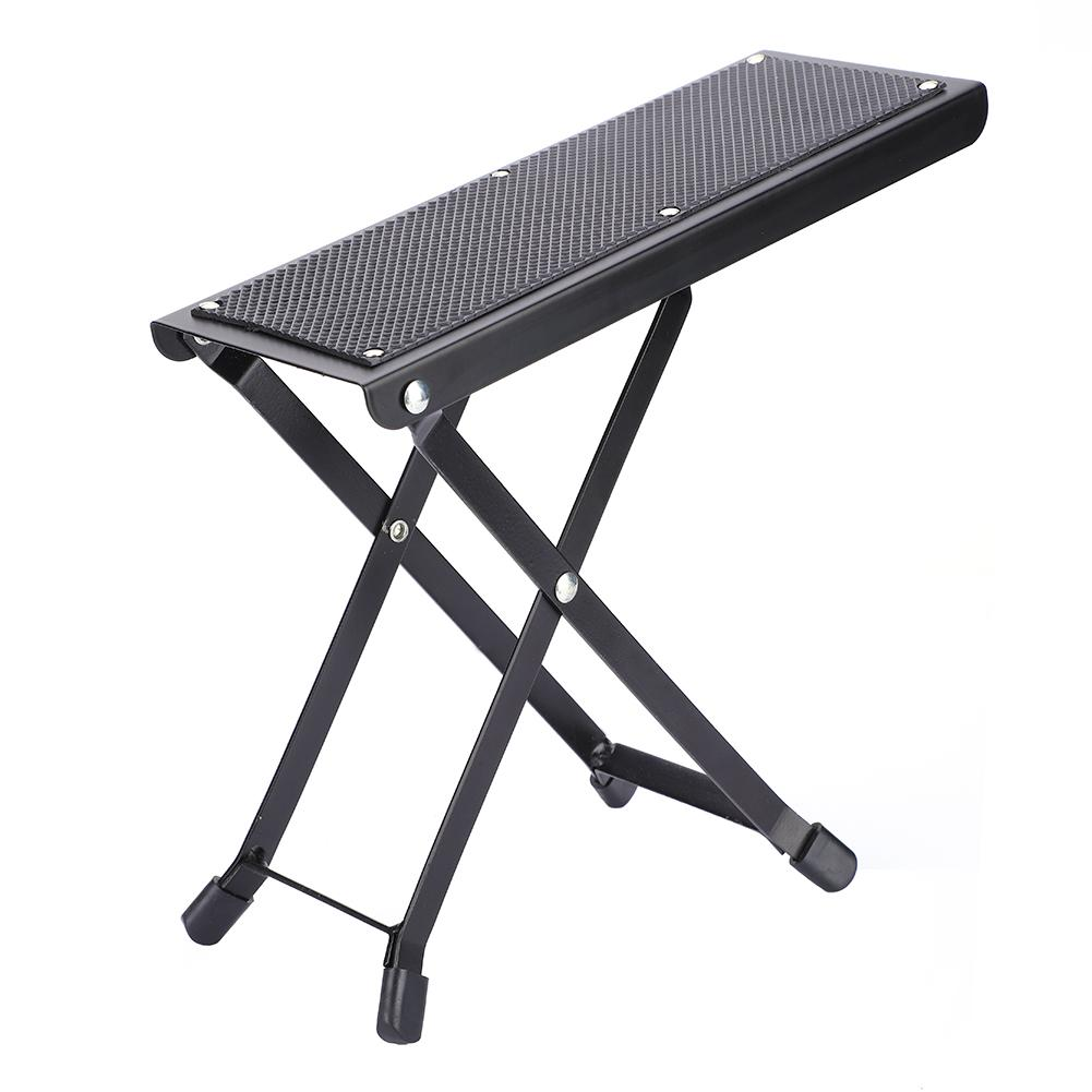 Brilliant Us 12 22 15 Off 4 Positions Anti Slip Adjustable Folding Metal Guitar Foot Rest Stool Pedal Stand Guitar Parts Accessories In Guitar Parts Squirreltailoven Fun Painted Chair Ideas Images Squirreltailovenorg