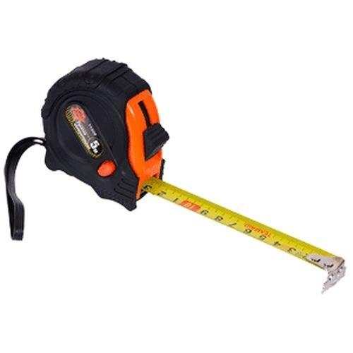 Tape Measure ТЕХМАШ 11309 5 m, обрезиненый case 3 meter steel engineering pocket tape measure
